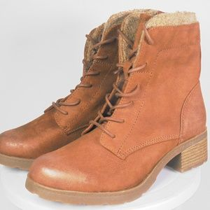 Combat Style Womens Boots Size 8 M